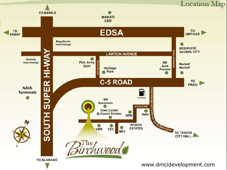 birchwood-location-map