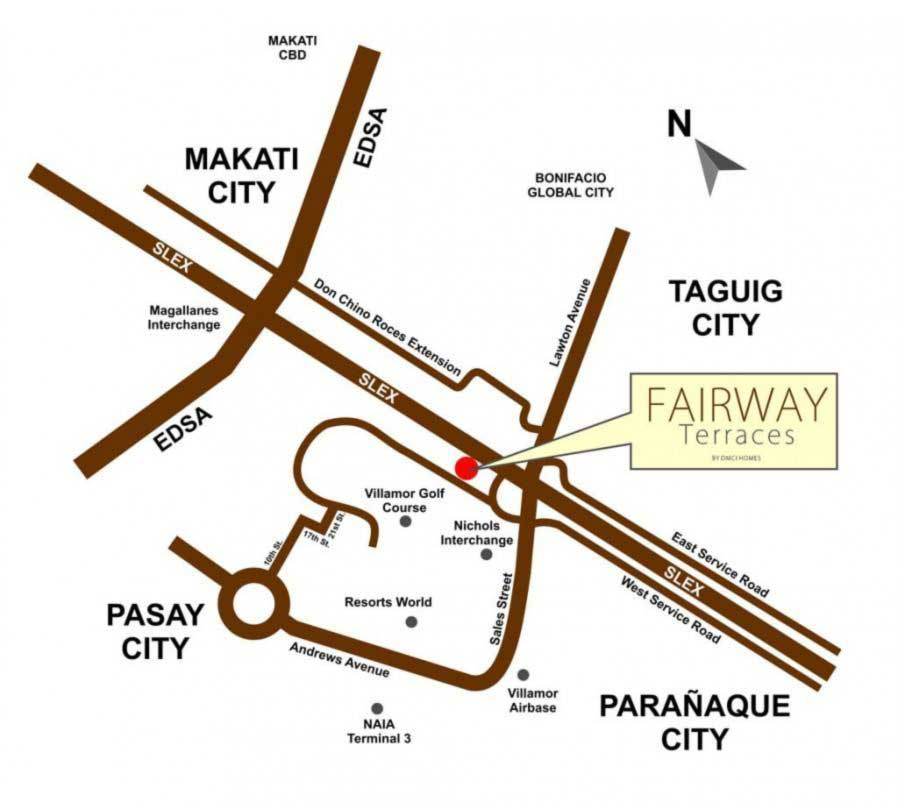 Fairway-Terraces-DMCI-Location-Map