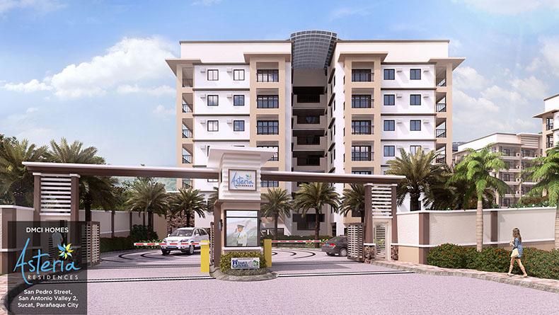 asteria-residences-dmci-paranaque-main-front-entrance-gate