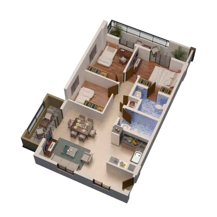 3-BR-Perspective